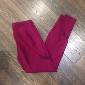 Old Navy compression pant with mesh detail